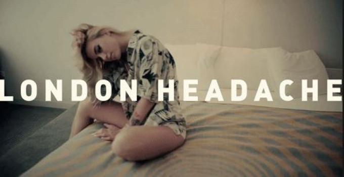 E' uscito ''London Headache'', il nuovo video di Anabel Englund